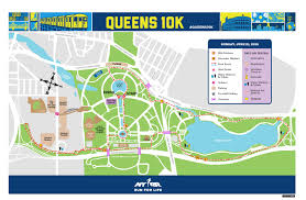New York Marathon Map by Queens Courier Reporter Challenges Queens 10k Qns Com