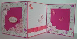 make photo birthday card how to make handmade greeting card pink and white trendy mods