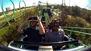 Six Flags Over Ga Address Virtual Reality Roller Coaster Style Vr Life