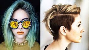 trendy short haircuts 2017 women short cut hair for women youtube