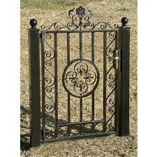 wts 3000 garden gates ornamental iron garden gate wrought iron