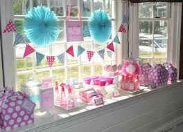 home party decoration spa birthday decorations creative ideas