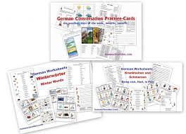 free german worksheets for beginners homeschool den