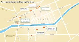 Yuan Dynasty Map Maps Of Nagri And Prefecture Shiquanhe Restaurants Road