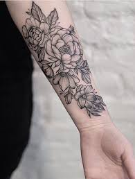 best 25 flower tattoos ideas on pinterest wildflower tattoo