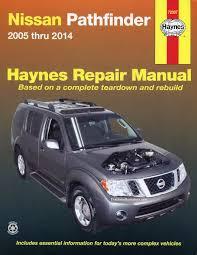 nissan pathfinder repair manual 2005 2014 haynes 72037