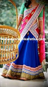 lengha choli for engagement alluring tri color lehenga choli
