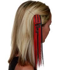 extension hair tech raiders women s scarlet black sports extension hair