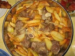 recette cuisine orientale sauté de pommes de terre lekbab cuisine orientale