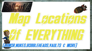 Fallout 4 Map With Locations by Fallout 4 Map With Everything U0027s Location Guns Power Armor
