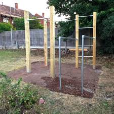 garden calisthenics outdoor gym pull up bars u0026 dip bars street