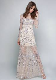 embellished dress embellished gown bebe
