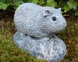 guinea pig statue etsy