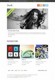 free email templates free psd with 5 email variations best psd