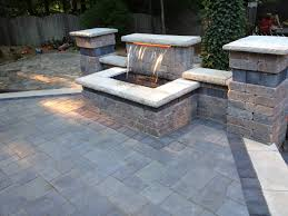 Raised Paver Patio Raised Patio Pavers