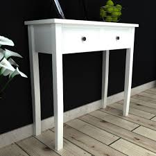 Meuble Coiffeuse Moderne by Meuble Console Blanc Table Console Mira Blanc Consoles