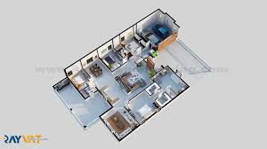 3d floor plan portfolio architectural floor plans projects