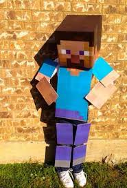 Minecraft Villager Halloween Costume Husband Untouchable Guy