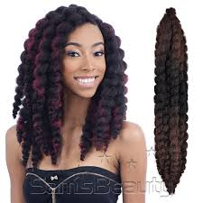 medium size packaged pre twisted hair for crochet braids freetress synthetic hair crochet braids bouncy twist out