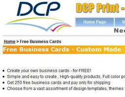 make and print your own business cards for free backstorysports