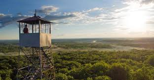 where to explore in wisconsin mountain lookout tower