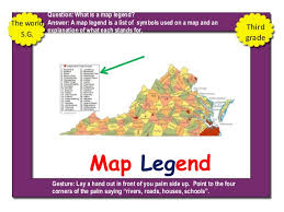 what is a map legend 3rd grade social science power pixs