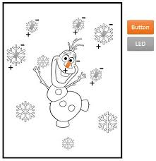 singing olaf bag frozen 7 steps with pictures