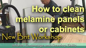 what is the best way to clean melamine cupboards how to clean melamine sheeting or cabinets