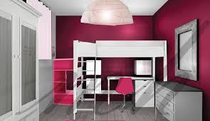 la plus chambre de fille couleurs plus flashy dans la decoration de chambre de cette