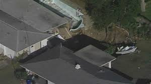 Sinkholes In Florida Map by Large Sinkhole Opens Up In Florida Neighborhood Nbc 6 South Florida