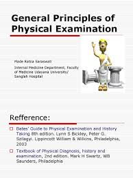 general principles of physical examination human eye neck