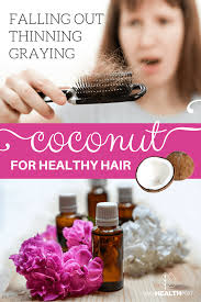 coconut oil for hair loss prevention and how to use it