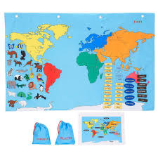 Antarctica World Map by Amazon Com Fao Schwarz Big World Map Toys U0026 Games