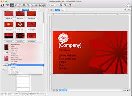 card software cristallight software professional mac business cards maker qr