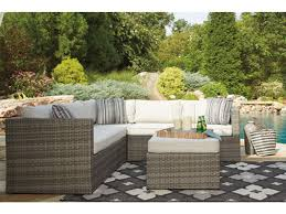 Patio Furniture Sectionals - outdoor furniture outdoor patio sectional peckham park hansens