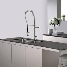 Kraus Kitchen Faucet Kraus Kpf 1602 Chrome Commercial Style Pre Rinse Kitchen Faucet