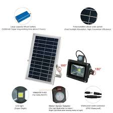bright light solar solar lights outdoor huanlemai bright 5200mah 600lm motion