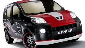 peugeot car van peugeot bipper beep beep concept van at bologna