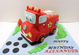firetruck cakes on birthday cakes 3 d firetruck cake