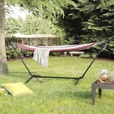 latitude run jaqueline outdoor portable hammock with stand