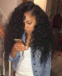 picture of hair sew ins image result for curly sew in hairstyles pinterest curly