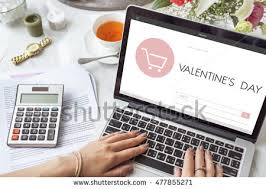 s day shopping quot valentines day cart quot stock images royalty free images