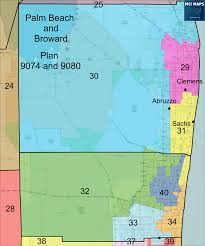 Map Of Jupiter Florida by The Ultimate Guide To The Six State Senate Base Maps U2013 Mci Maps