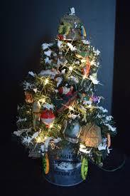 fishing anglers fishermen themed christmas tree holiday tree
