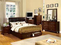 Brushed Nickel Headboard Furniture Of America Anita Platform Bed With Book Case Headboard