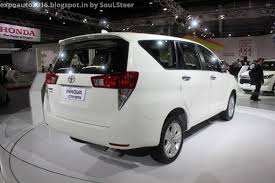 mpv toyota auto expo 2016 by soulsteer second gen toyota innova crysta an140