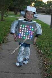 Toddler Boy Halloween Costumes Unique Homemade Robot Kids Halloween Costume Halloween