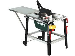 use circular saw as table saw metabo tkhs315m 240v 2500w site table saw with 24t tct blade