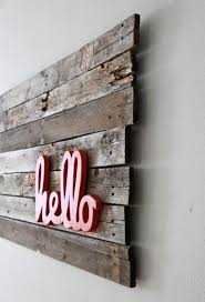 20 inspirations of wood word wall