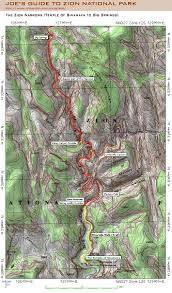 Green River Utah Map by Hiking The Narrows Zion National Park Ut U2014 Backcountrycow
